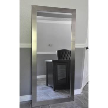 Rayne Mirrors Jovie Jane R003T Silver Wide Tall Wall Mirror Regarding Tall Silver Mirrors (#10 of 20)