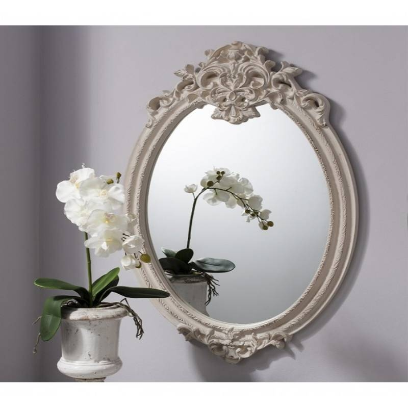 Recoveries Pertaining To Cream Shabby Chic Mirrors (#23 of 30)