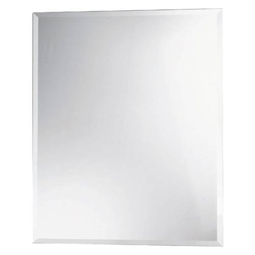 Rectangular Bevelled Mirror | Rona Intended For Bevelled Mirrors (#16 of 20)