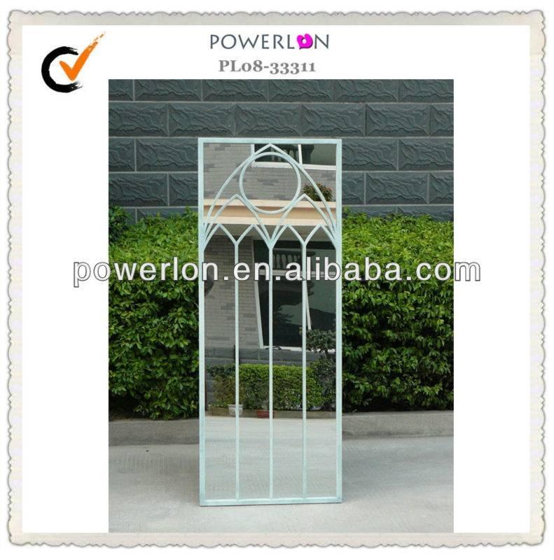 Rectangular Elegance Tall Metal Garden Mirror – Buy Metal Garden Within Metal Garden Mirrors (#23 of 30)