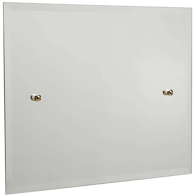 Rectangular Landscape Bathroom Tilt Wall Mirror – Free Shipping With Regard To Landscape Wall Mirrors (#19 of 30)