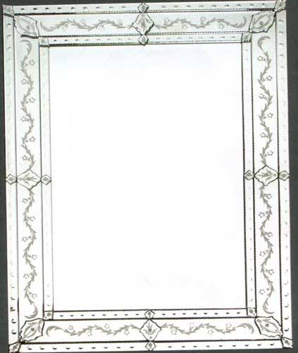 Rectangular Venetian Mirror Regarding Rectangular Venetian Mirrors (#15 of 30)