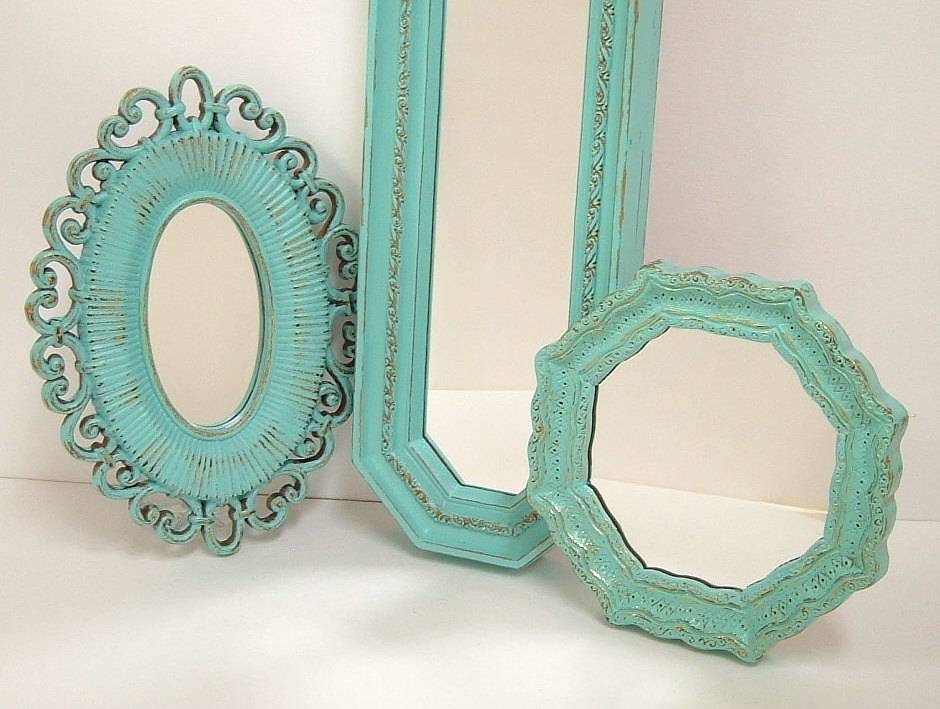 Rectangular Wall Mirrors Decorative Intended For Shabby Chic Wall Mirrors (View 25 of 30)