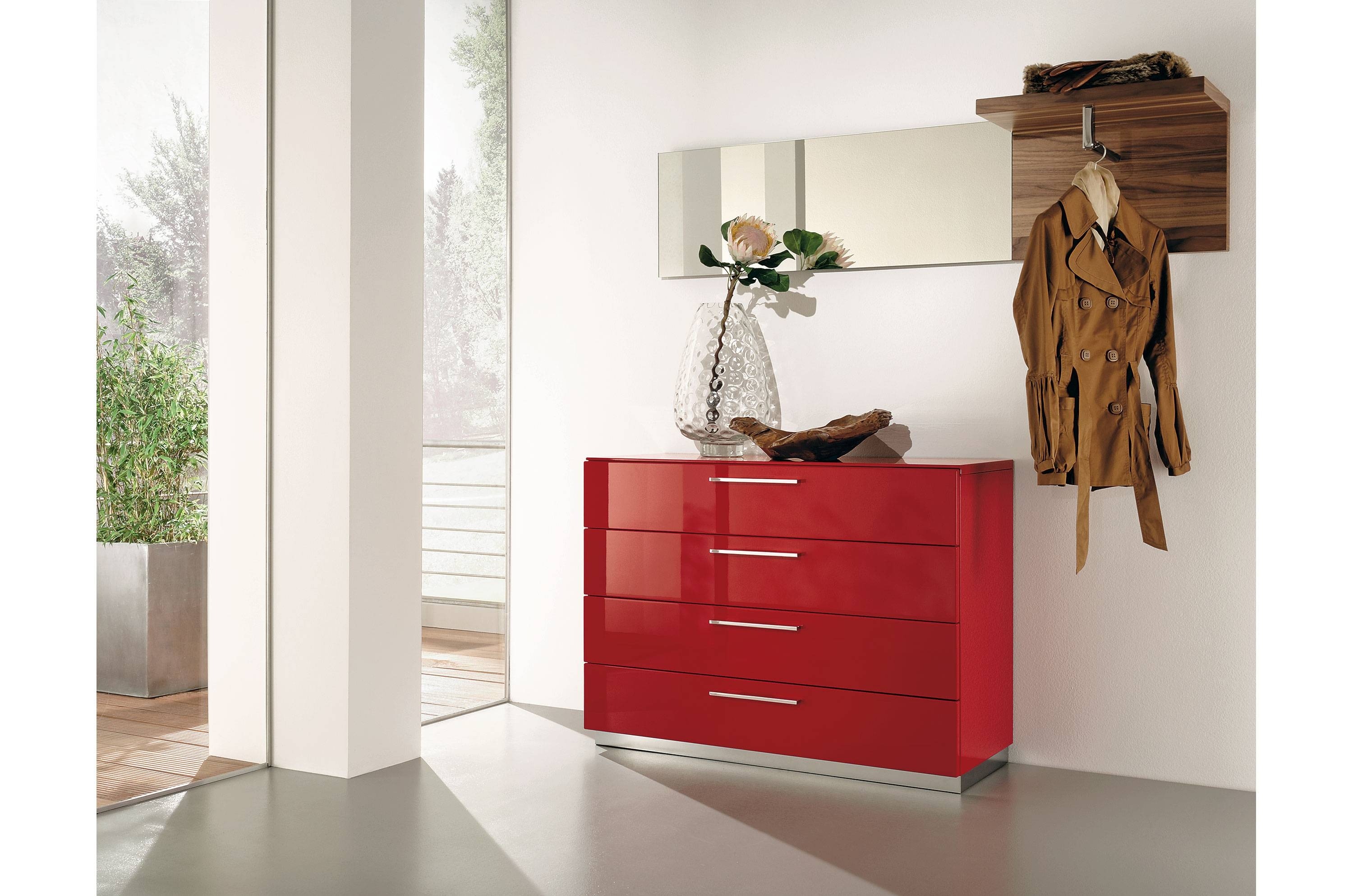 Popular Photo of Red High Gloss Sideboard