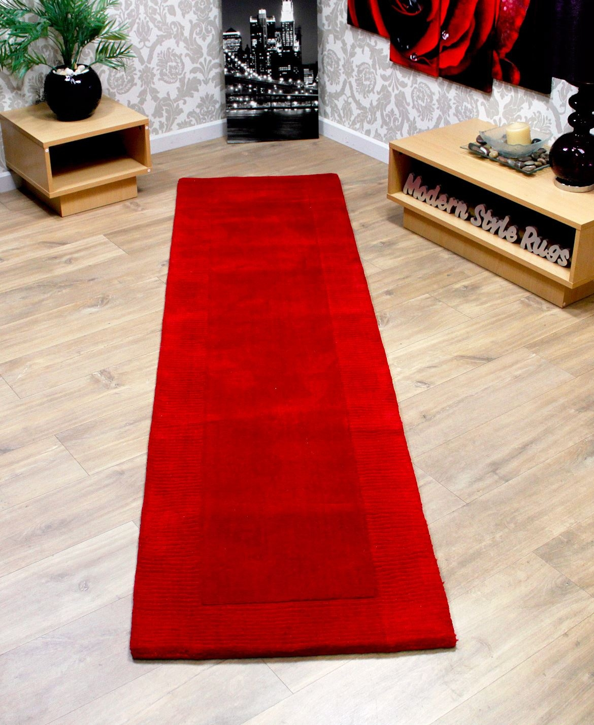 20 best collection of red runner rugs for hallway for Runners carpets and rugs