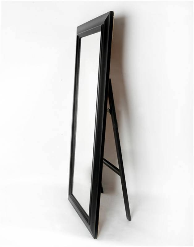 Reflect Mirrors Brisbane | Free Standing Mirrors | Cheval Mirrors Within Black Free Standing Mirrors (#25 of 30)