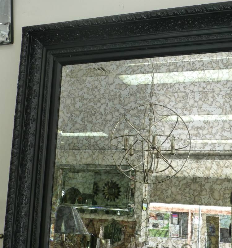Reflect Mirrors Brisbane | Leaner Mirror | Wall Mirror | Antique Throughout Black Antique Mirrors (View 11 of 30)