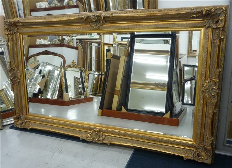 Reflect Mirrors Brisbane | Ornate Mirrors | Traditional Mirrors Within Gold Full Length Mirrors (#26 of 30)