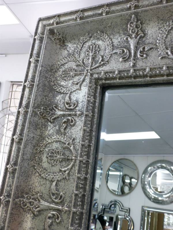 Reflect Mirrors Brisbane | Pressed Metal Mirror | Full Length Pertaining To Pressed Tin Mirrors (#17 of 20)