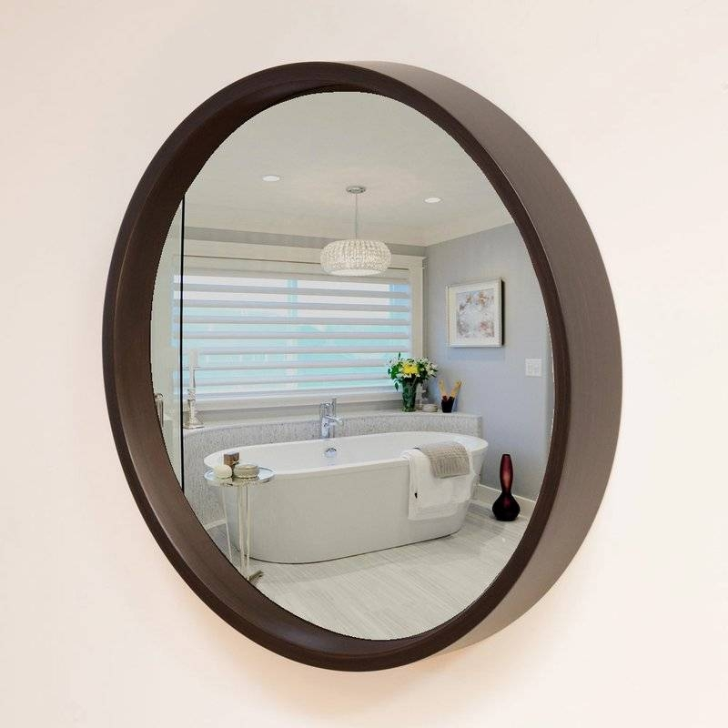 Reflecting Design Leland 38 Decorative Convex Wall Mirror With Regard To Convex Decorative Mirrors (View 23 of 30)
