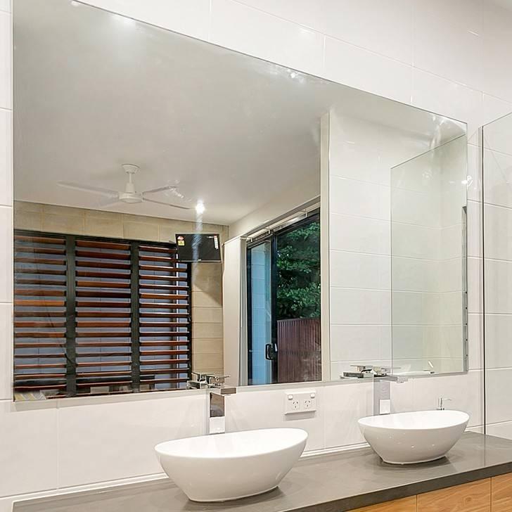 Reflekta Bevelled Edge Mirror 1800X900Mm | Highgrove Bathrooms Pertaining To High Grove Mirrors (View 7 of 30)