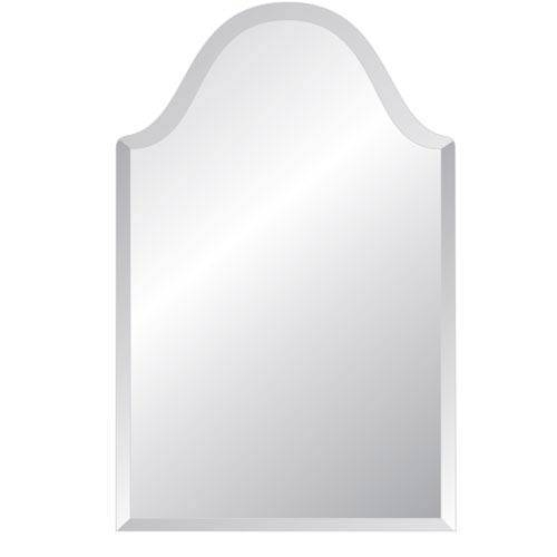 Regency Bristol 20 X 40 Beveled Edge Mirror Spancraft Wall Mirror Within Square Frameless Mirrors (#24 of 30)