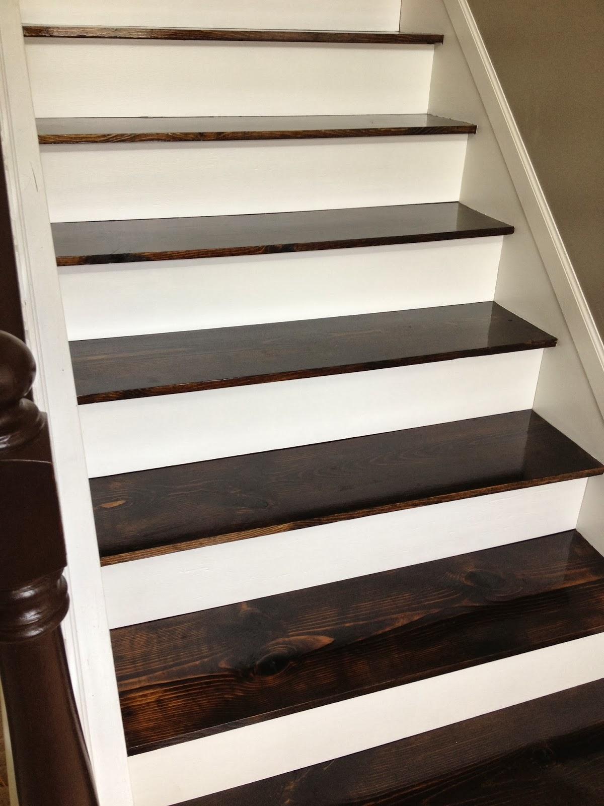 Remodelaholic 60 Carpet To Hardwood Stair Remodel For Carpet Treads For Hardwood Stairs (#16 of 20)