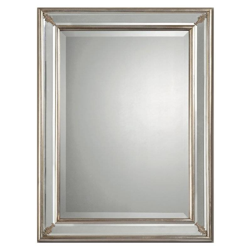Ren Wil Beveled Wall Mirror & Reviews | Wayfair With Bevelled Mirrors (#17 of 20)