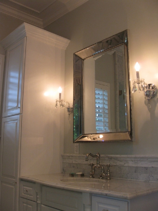 Restoration Hardware Venetian Beaded Mirror – Transitional Inside Venetian Beaded Mirrors (#13 of 30)
