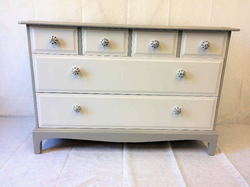 Retro Refinish Furniture,console,hall,sideboard,chest Of Drawers With Regard To Hall Sideboard (View 13 of 20)