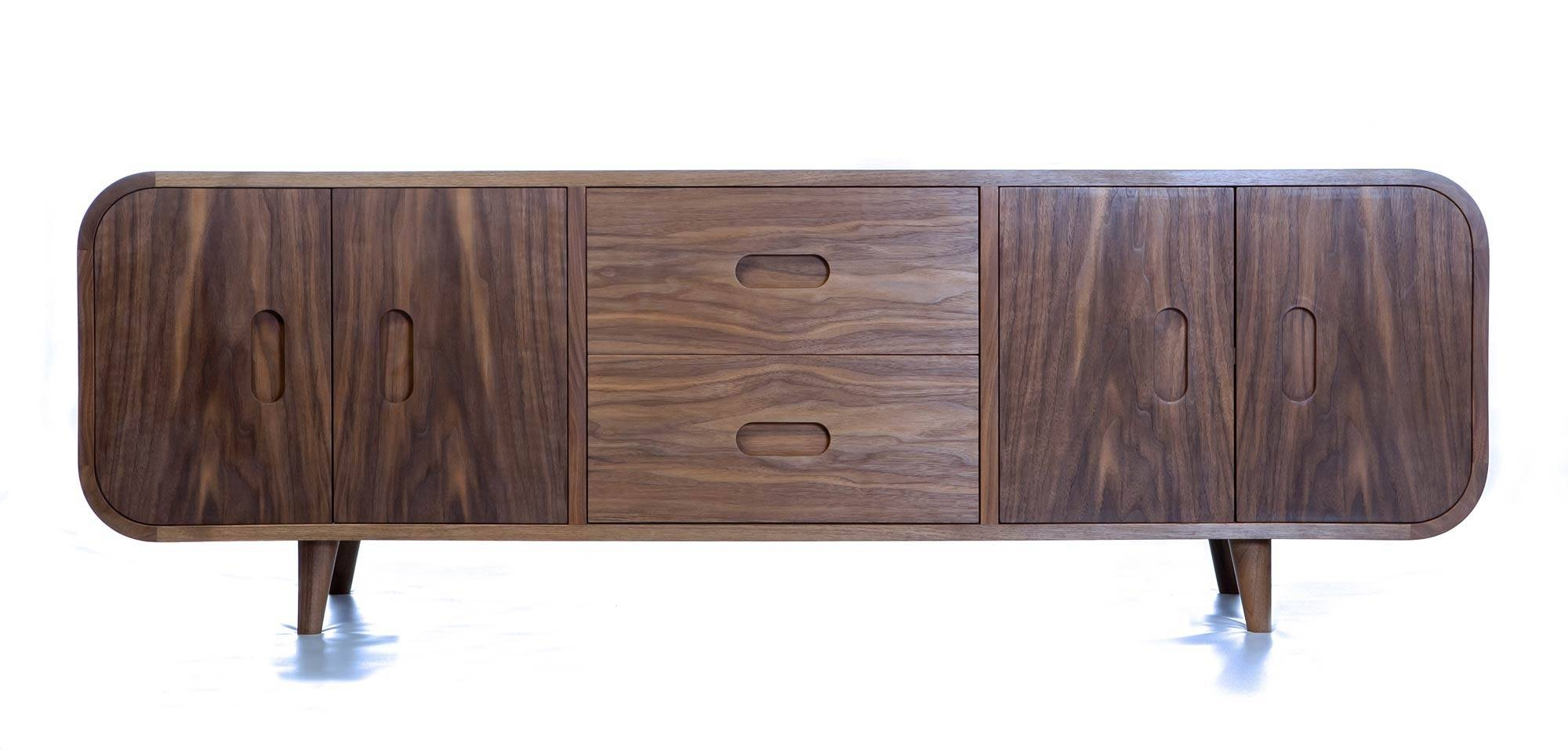 Retro Sideboard | Makers' Eye With Regard To Black And Walnut Sideboard (#16 of 20)