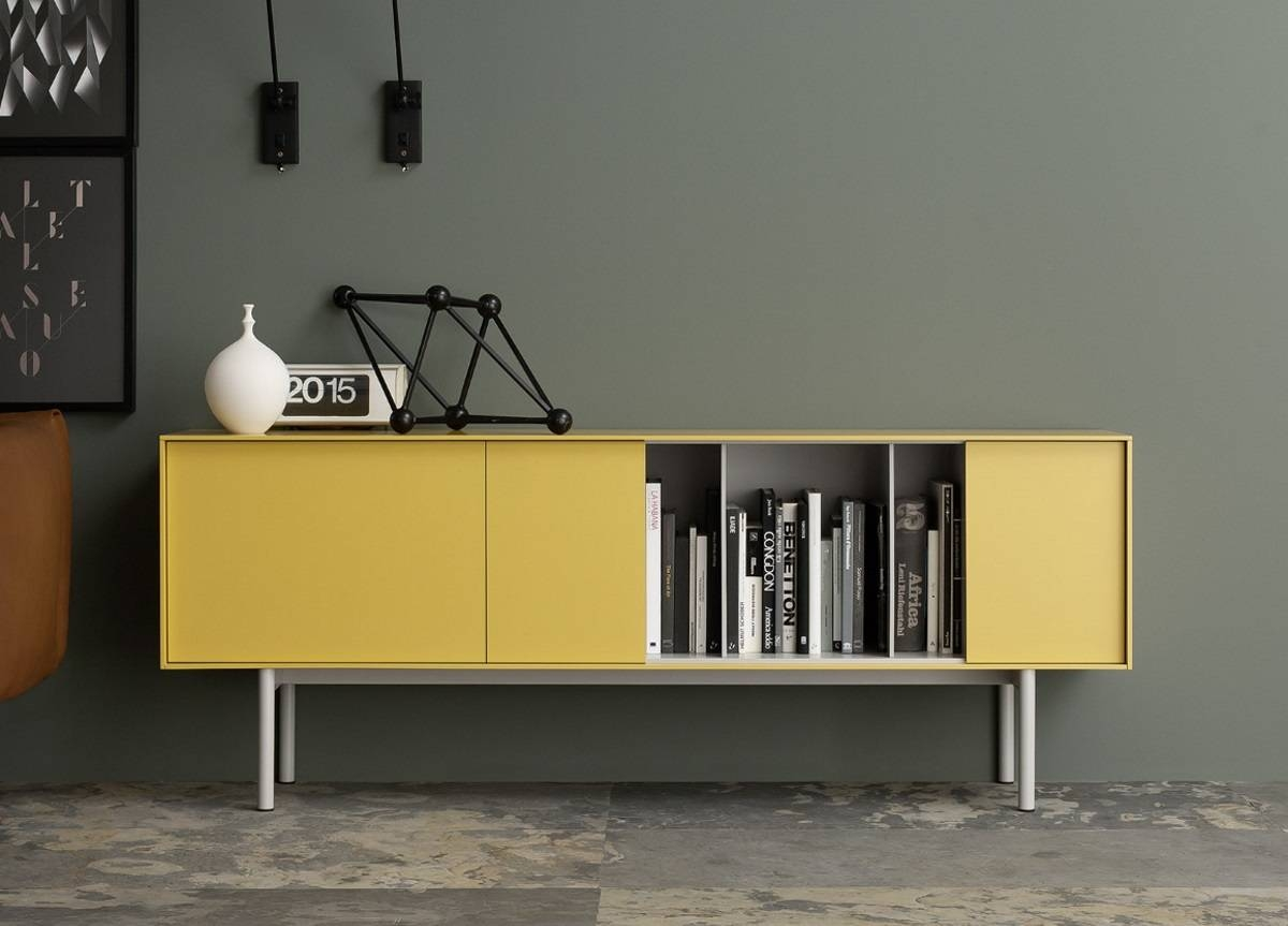Reverse Medium Sideboard – Contemporary Sideboards & Modern Furniture Inside Sideboards Contemporary (View 10 of 20)