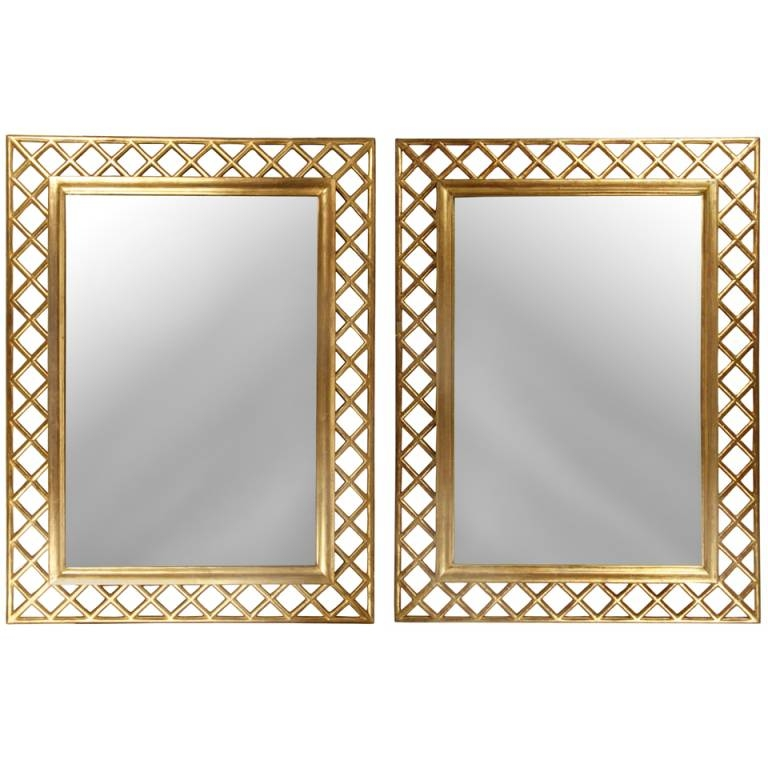 Rich And Splendid Mirrors – In Decors Intended For Gold Mirrors (#29 of 30)