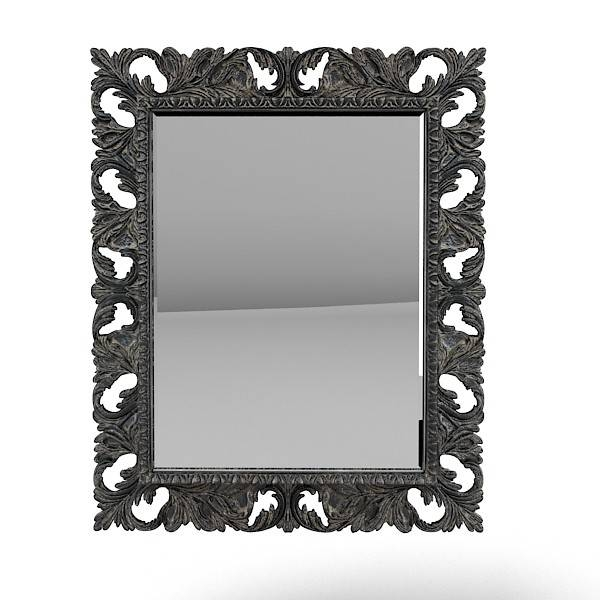 Richard Srichardbl 3D Model With Baroque Black Mirrors (#19 of 20)