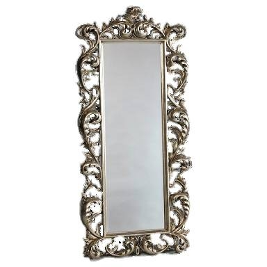 Rococo Dressing Mirror – Silver Or Gold Regarding Gold Rococo Mirrors (View 11 of 20)