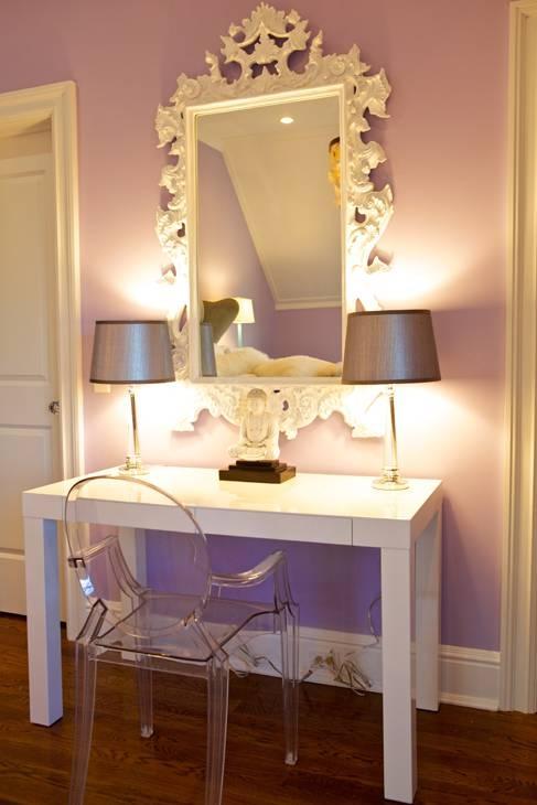 Rococo Mirror Design Ideas Inside White Rococo Mirrors (#13 of 20)