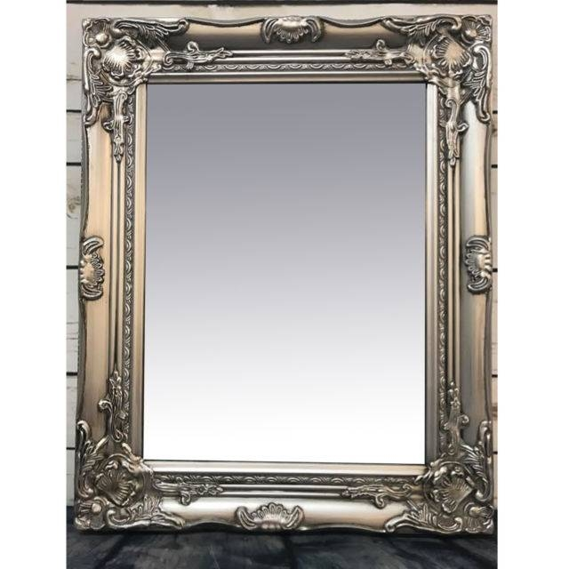 Rococo Mirror | Ebay Intended For Silver Baroque Mirrors (View 28 of 30)