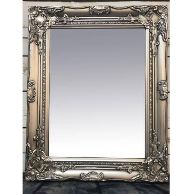 Rococo Mirror | Ebay Within Large White Rococo Mirrors (#24 of 30)