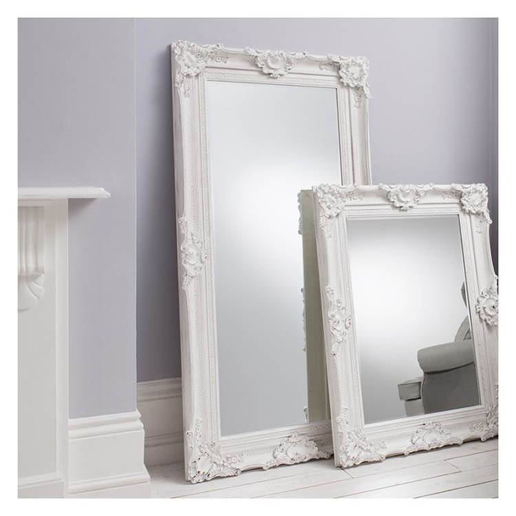 Rococo Mirrors | Exclusive Mirrors Throughout Large White Rococo Mirrors (#27 of 30)