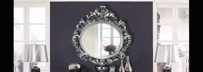Rococo Mirrors Inside Black Rococo Mirrors (#26 of 30)