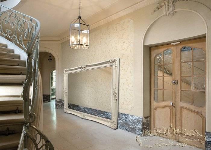 Rococo Mirrors Inside Large White Rococo Mirrors (#25 of 30)