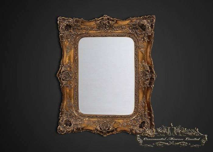 Rococo Mirrors With Gold Rococo Mirrors (View 10 of 20)