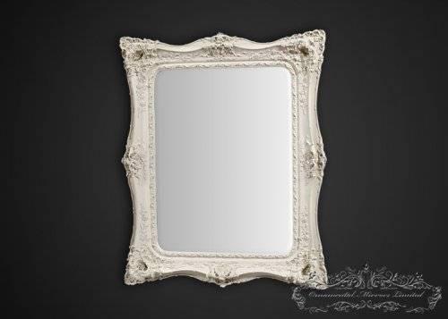 Rococo Mirrors With Regard To White Rococo Mirrors (#14 of 20)