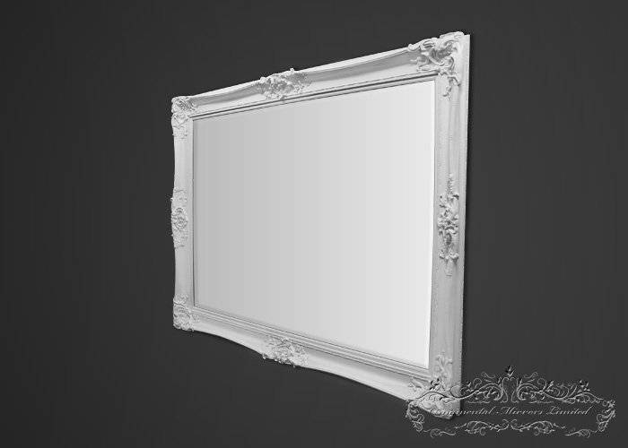 Rococo Mirrors Within Large White Rococo Mirrors (#26 of 30)
