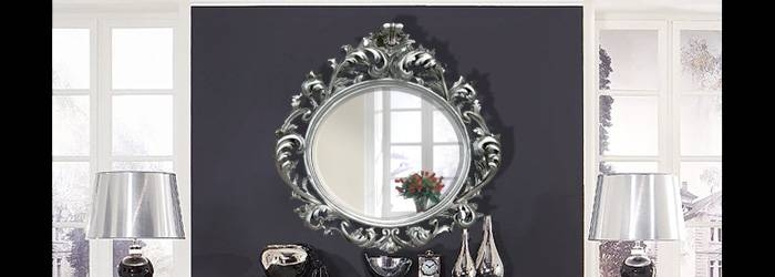 Rococo Mirrors Within White Rococo Mirrors (#16 of 20)
