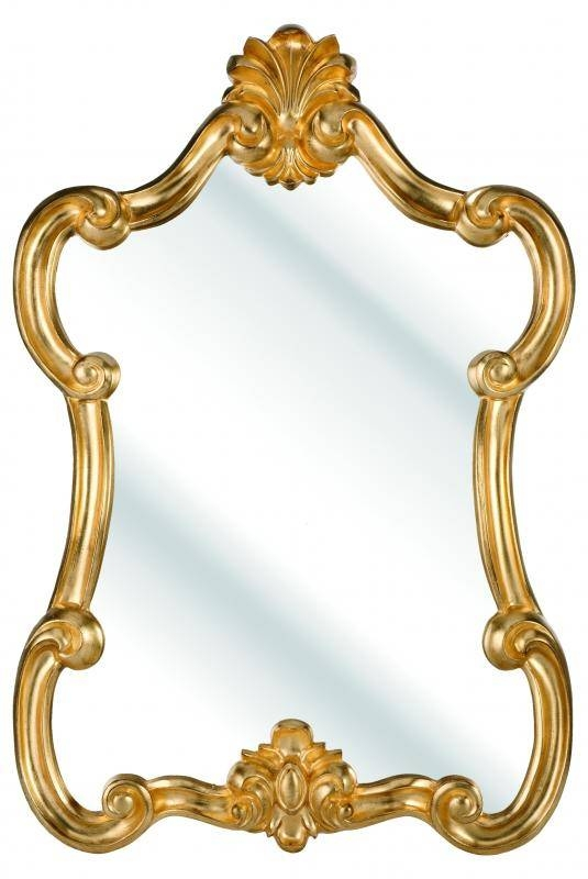 Popular Photo of Gold Rococo Mirrors
