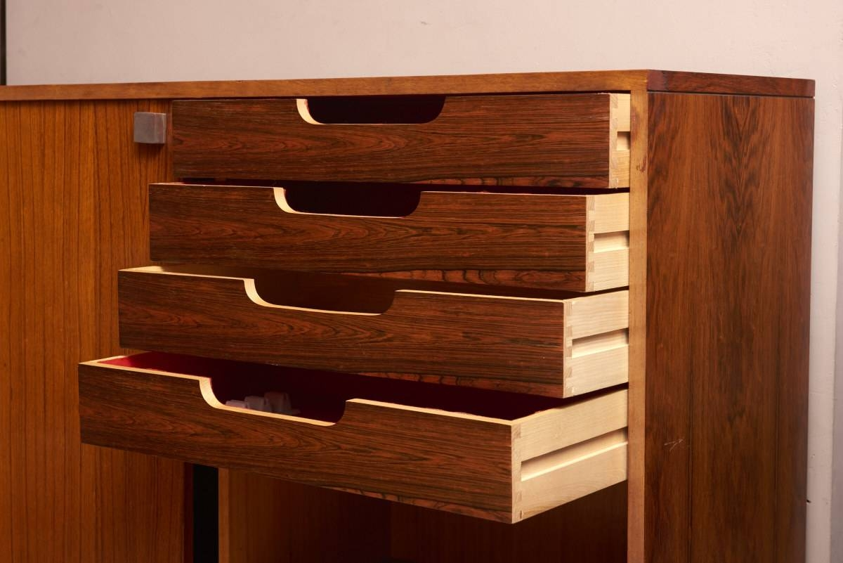 Rosewood High Sideboardalfred Hendrickx For Belform, 1968 For With Regard To High Sideboard (View 17 of 20)