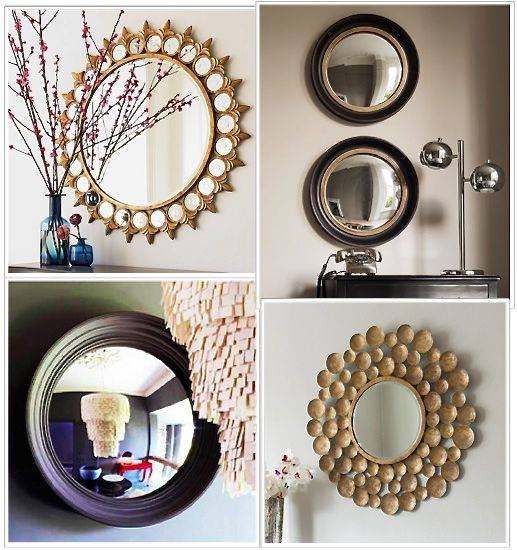 Round And Round And Round… | Trendey Within Unusual Round Mirrors (View 12 of 20)