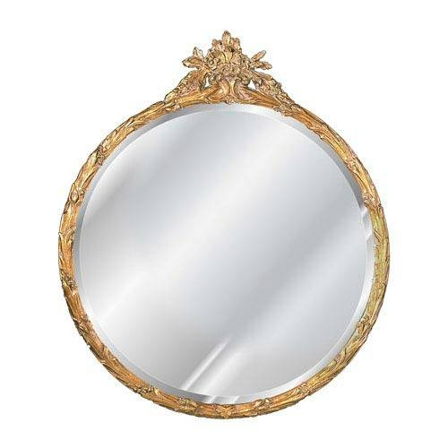 Popular Photo of Round Antique Mirrors