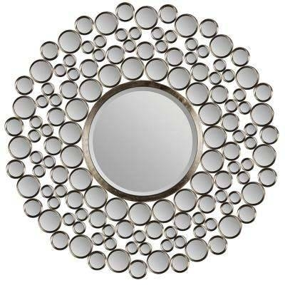 Round – Bathroom Mirrors – Bath – The Home Depot For Round Mirrors (View 30 of 30)