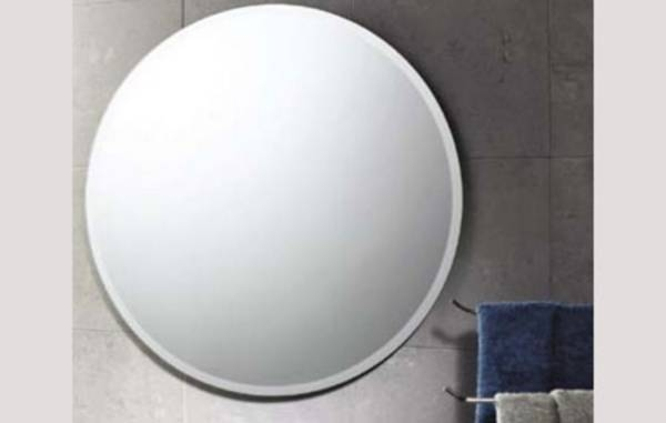 Popular Photo of Round Bevelled Mirrors