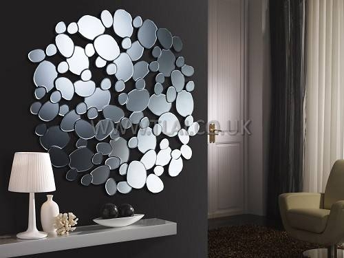 Popular Photo of Round Bubble Mirrors