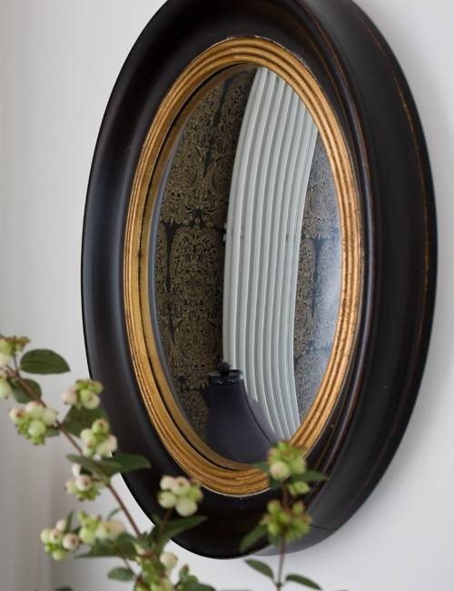 Round Convex Mirror | Inovodecor Within Convex Porthole Mirrors (#10 of 15)