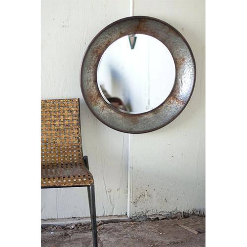 Round Large Mirror – Shopwiz Regarding Large Black Round Mirrors (View 11 of 30)