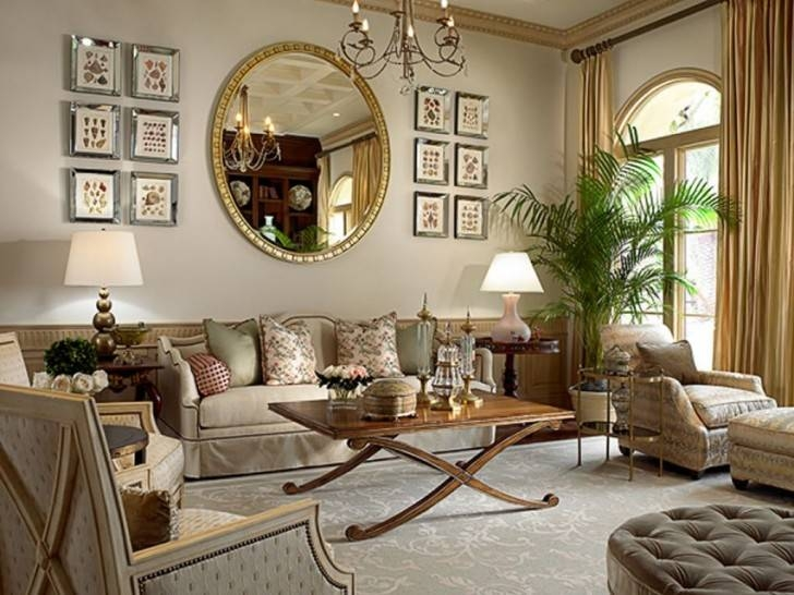 Round Mirrors For Living Room 17 Best Ideas About Large Round Within Large Round Gold Mirrors (#26 of 30)