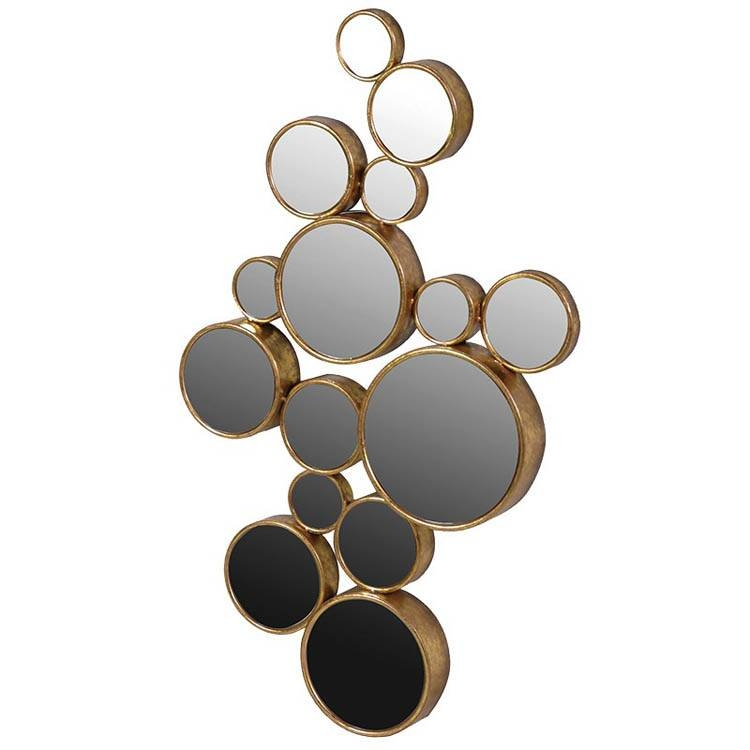 Round Mirrors | Round Wall Mirrors| Exclusive Mirrors With Round Bubble Mirrors (#26 of 30)