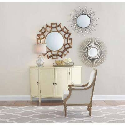 Round – Mirrors – Wall Decor – The Home Depot Intended For Round Mirrors (View 10 of 30)
