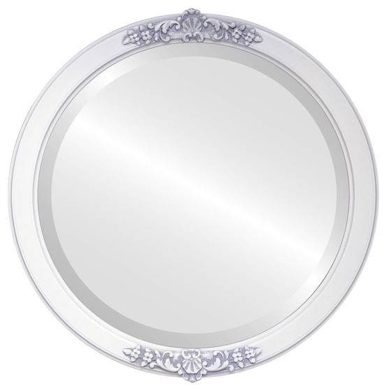 Round Mirrors – White Round Mirror – Page 1 – The Oval And Round With Regard To White Round Mirrors (#24 of 30)