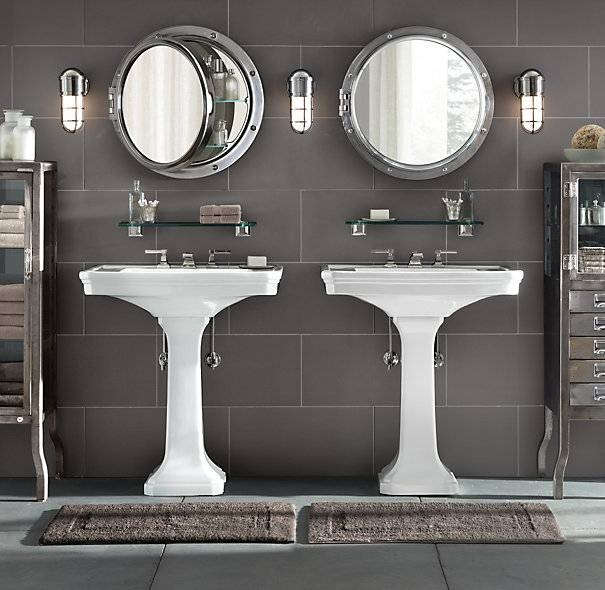 Round Porthole Mirror — Jen & Joes Design : Classy Porthole Mirror In Round Porthole Mirrors (#21 of 30)
