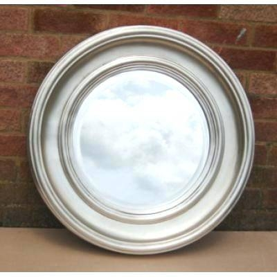 Round Silver Mirror – Shopwiz Throughout Round Silver Mirrors (#23 of 30)